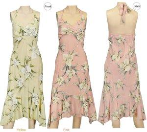 Malana-Halter Dresses 2XL