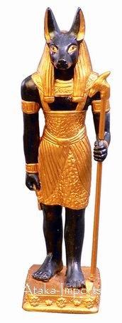 EGYPTIAN ANUBIS FIGURINE (6126)