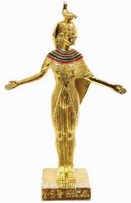 PEWTER -EGYPTIAN GODDESS SERKET FIGURINE (6225s)