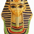 PEWTER-EGYPTIAN KING TUT MASK BUST FIGURINE (6151)