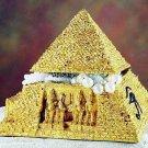 EGYPTIAN PYRAMID JEWELRY BOX-LARGE-NEAT (5207s)