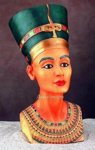 EGYPTIAN QUEEN NEFERTITI 3D BUST (5001)