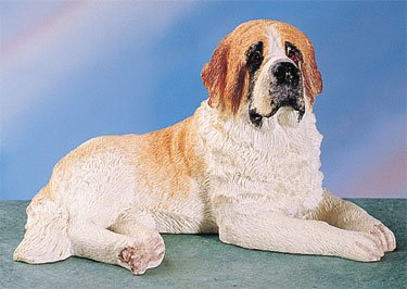 ST. BERNARD DOG FIGURINE (4404s)