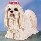 MALTESE DOG FIGURINE (4408s)