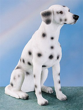 DALMATIAN-DAL- DOG FIGURINE (4407)