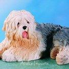 OLD ENGLISH SHEEPDOG DOG FIGURINE-BOBTAIL (4580)