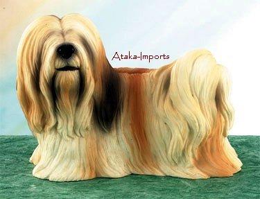 LHASA APSO DOG FIGURINE-LHASA (5022)