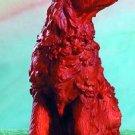 IRISH SETTER DOG FIGURINE (4950)