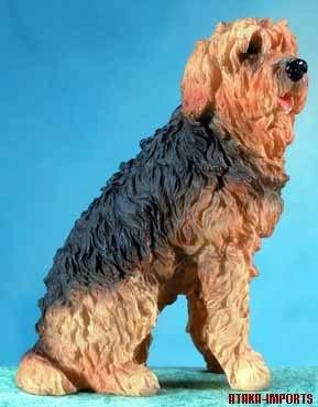 OTTER HOUND DOG FIGURINE (5666)