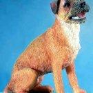 BORDER TERRIER DOG FIGURINE (5668)