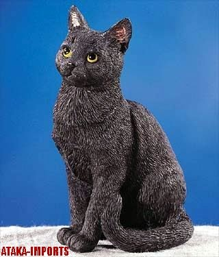 BRITISH BOMBAY CAT FIGURINE-BOMBAY CAT (5245)