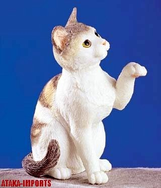 AMERICAN SHORTHAIR CAT FIGURINE (5252)