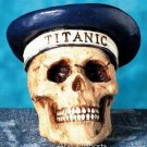TITANIC CAPTAIN HUMAN SKULL-SKELETON HEAD BIZARRE (4386)