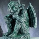 GARGOYLE THINKING-LARGE FIGURINE-STATUE-GOTHIC (4992sp)