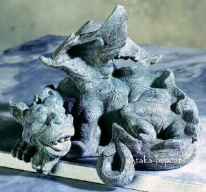 GARGOYLE PC MONITOR TOPPER -STATUE (5179s)