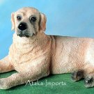 YELLOW LABRADOR DOG FIGURINE (4775)