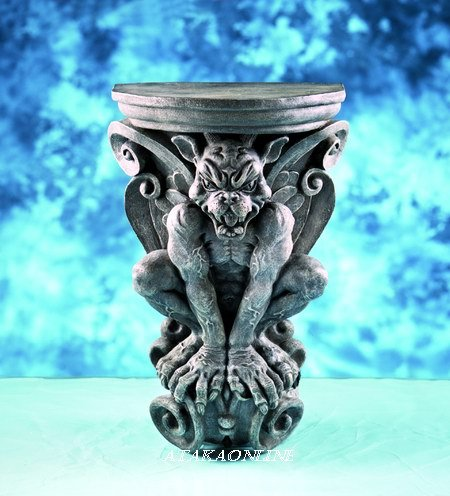 GARGOYLE WALL BRACKET-GOTHIC-GUARDIAN (5867)