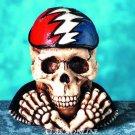 DEAD HEAD SKULL FIGURINE-SKELETON-BIZARRE-HALLOWEEN (4725s)