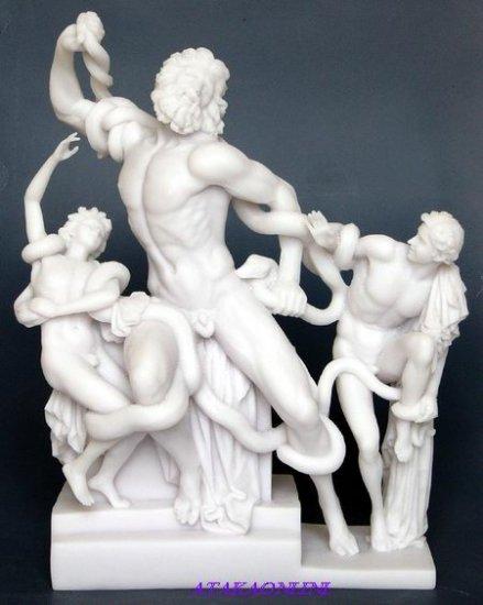 LAOCOON-GREEK MYTHOLOGY-ROMAN-SCULPTURE-ARTWORK (6442)