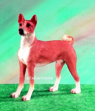 BASENJI DOG FIGURINE (5149s)
