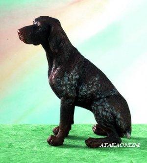 GERMAN SHORTHAIRED POINTER DOG FIGURINE-GSP (5024)