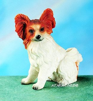 PAPILLON DOG FIGURINE (4771)
