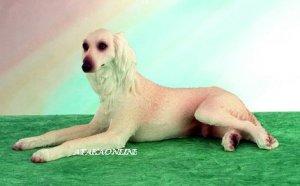 SALUKI DOG FIGURINE (5025)