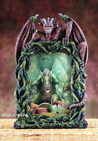 EVIL DRAGON PICTURE FRAME  (5876)