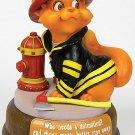 FIREFIGHTER CAT-CUTIE-FIGURINE (6553)