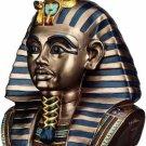 KING TUT HEAD BOX W REMOVABLE HEAD LID-FIGURINE-STATUE (6091s)
