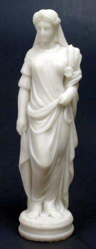 FALL-AUTUM LADY FIGURINE-GREEK FIGURINE-STATUE (6737)