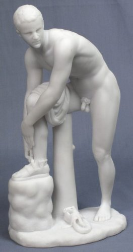 CINCINNATUS-GREEK FIGURINE-STATUE (6821)