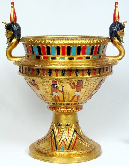 EGYPTIAN VASE (6946)