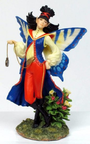 TIME FAIRY-FIGURINE-STATUE BY DEBBY KASPARI (6974)