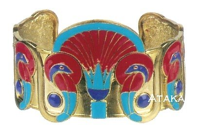 ANCIENT EGYPTIAN COBRA BRACELT (2448S)