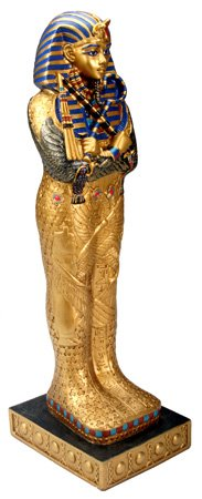 EGYPTIAN KING TUT COFFIN STATUE (5308)