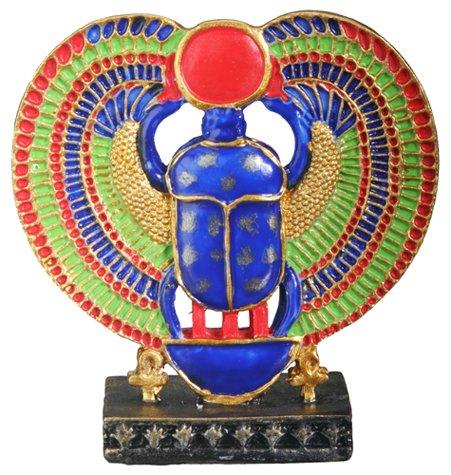 EGYPTIAN WINGED SCARAB FIGURINE (6345s)