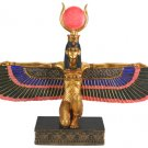 GODDESS ISIS OPEN WINGS EGYPTIAN STATUE (5381s)