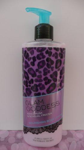 Victoria's Secret Glam Goddess Naked Musk And Sensual Freesia nourishing body lotion.