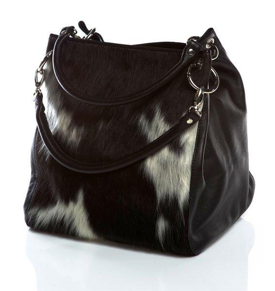 """a Tote bag Cowhide leather handbag women handbag ladies purse """"ART-SHREE"""" By Ruby Leather"""