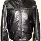 Men bomber leather jacket motorcycle jacket biker jacket Free Shipping to Australia & New Zealand!!