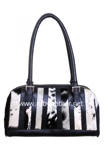Cowhide handbag for women by Ruby Leather Free Shipping to Australia & NewZealand
