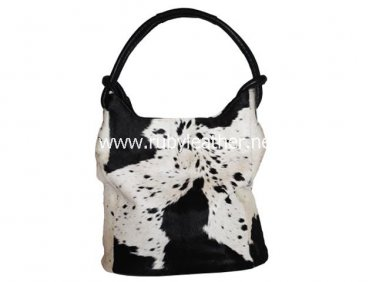 cowhide shopper bag carry bag bucket bag by Ruby Leather Free Shipping to Australia & NewZealand