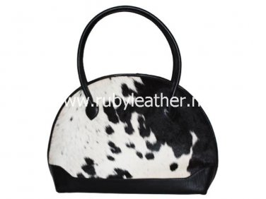 Genuine cowhide leather bowling bag by Ruby Leather Free Shipping to Australia & NewZealand