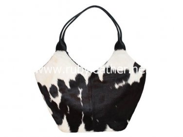 Genuine leather women cowhide purse handbag bucket handbag Free Shipping to Australia & NewZealand