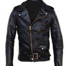 Men cowhide motorbike leather jacket leather jacket Free Shipping to Australia & NewZealand