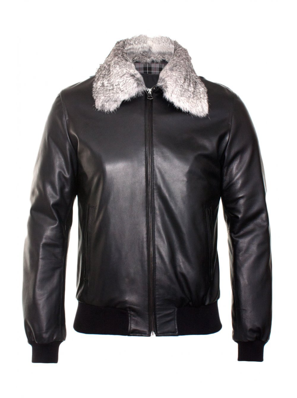 Men leather pilot Jacket  Men cow leather jacket Free Shipping to Australia & New Zealand