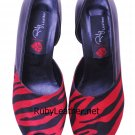 women ladies fashion new design real leather heels pumps shoes by Ruby Leather Size 7
