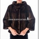 Boat Neck Mink Jacket,Mink fur coat,fur coat for women,ladies fur coat