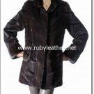 Shearded texture Mink fur Coat for ladies , mink fur coat ,fox fur coat